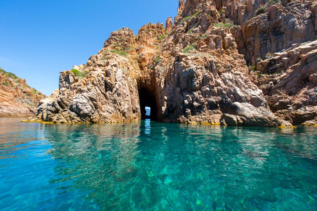 Calanchi di Piana Corsica in Catamarano
