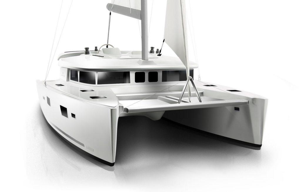 Catamarano Lagoon 450 Rendering di Apertura