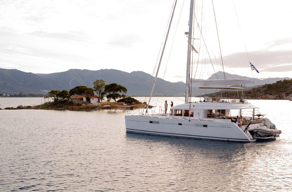 Catamarano Lagoon 560 Foto Repertorio