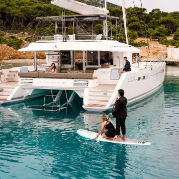 Catamarano Lagoon 560 Poppa