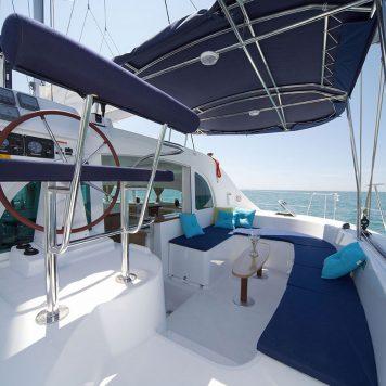 Catamarano Lagoon 380 Esterna