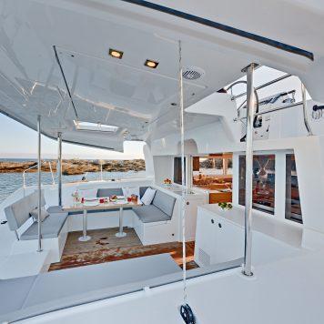 Catamarano Lagoon 450 Pozzetto