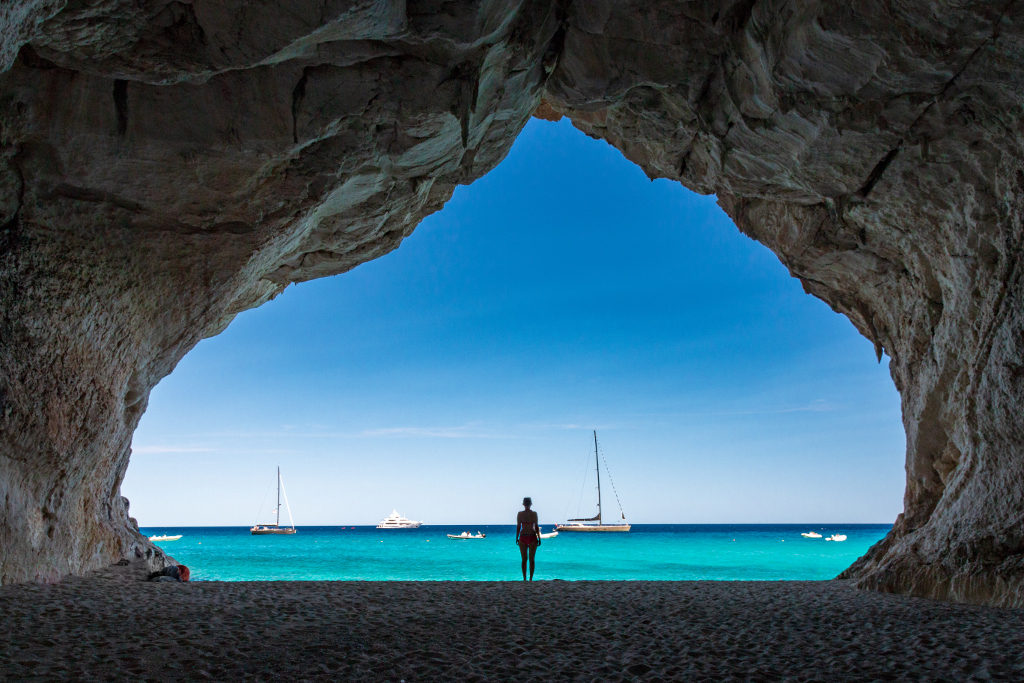 Spiaggia di Cala Luna in Sardegna